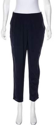 Joie Mid-Rise Silk Pants