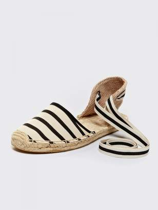 Draper James Soludos Classic Stripe Sandal