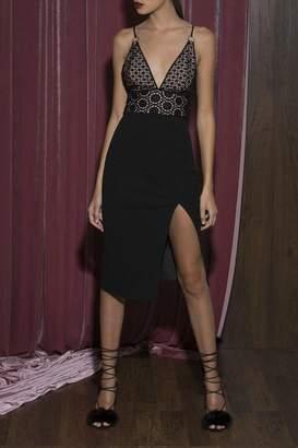 Style Stalker Lace Midi Dress