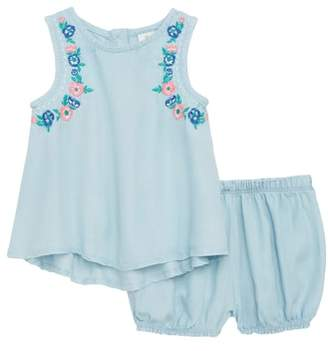 Tucker + Tate Embroidered Swing Top & Bloomers