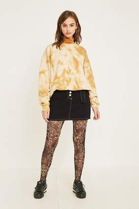Urban Outfitters Baroque Printed Mesh Legging