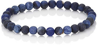 Barneys New York Men's Sodalite Beaded Bracelet - Blue