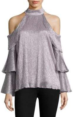 Parker Kris Cold Shoulder Top