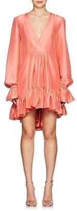 Azeeza Women's Mini Thistle Silk Shantung Dress