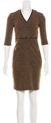 Burberry Mini Knit Dress