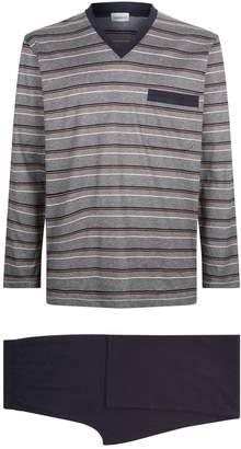Zimmerli Cotton Stripe Pyjama Set
