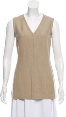 Narciso Rodriguez Wool Sleeveless Top