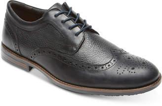 Rockport Men Dustyn Leather Wingtip Oxfords Men Shoes