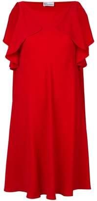 RED Valentino flared ruffled dress