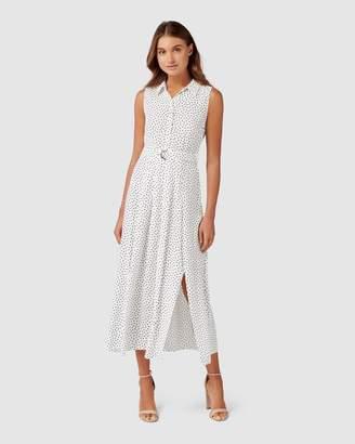 Forever New Marley Sleeveless Shirt Dress