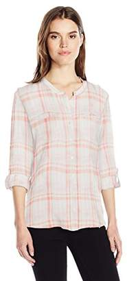 Nine West Women's Bailey Button Front Shirt