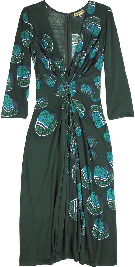 Issa Shell print dress