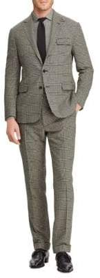 Ralph Lauren Purple Label Glen Plaid Wool Suit