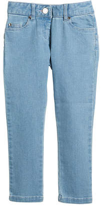 Givenchy Star-Back Denim Trousers, Size 6-10