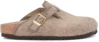 Birkenstock Boston Grey Cow Hair - Premium Sabot