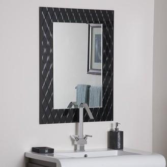 Décor Wonderland Strands Modern Bathroom Mirror