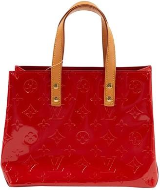 Louis Vuitton Catalina Red Patent leather Handbag