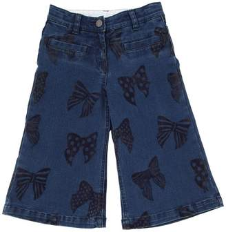 Stella McCartney Bows Printed Stretch Denim Jeans