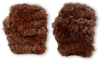 Jocelyn Real Fur Fingerless Gloves
