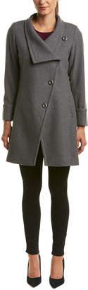 Trina Turk Trina By Fiona Wool-Blend Coat