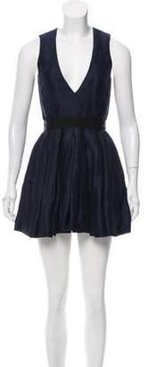 Isabel Marant Striped Linen-Blend Dress