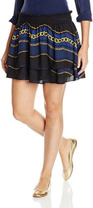 Juicy Couture Black Label Women's Royal Windsor Mini Skirt $128 thestylecure.com