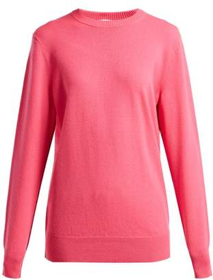 Helmut Lang Crew Neck Cashmere Sweater - Womens - Pink