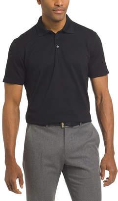 Van Heusen Short Sleeve Knit Polo Shirt Slim