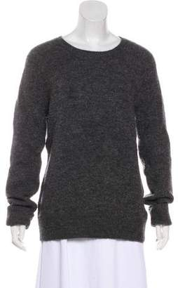 Neil Barrett Wool-Blend Long Sleeve Sweater