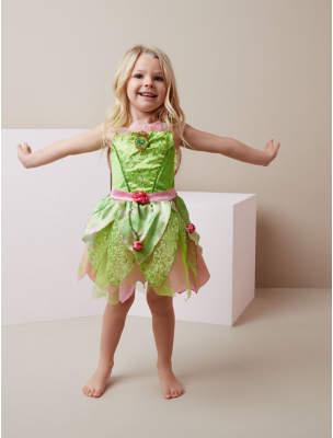 Bell George Disney Fairies Tinkerbell Fancy Dress Costume