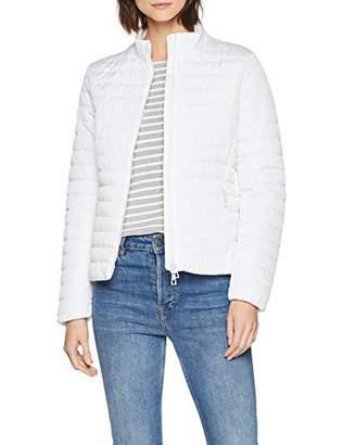 Geox Women's W Ascythia Jacket, (Optical White F), (Size: 46)