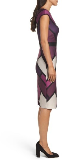 Women's Vince Camuto Scuba Body-Con Dress 2