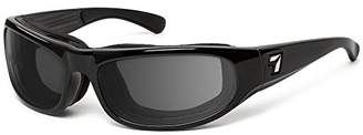 clear 7eye by Panoptx | Whirlwind | Wind Blocking Foam Sunglasses - Photochromic to Gray Lenses + Perferct for Motorcycle Riding