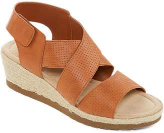 407b2d6d7a68 ST. JOHN S BAY Womens Denison Wedge Sandals