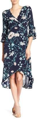 Cotton On & Co Lucia Wrap Midi Dress