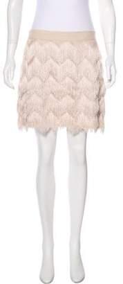 Ella Moss Fringe Mini Skirt