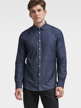 DKNY Chambray Button-Down
