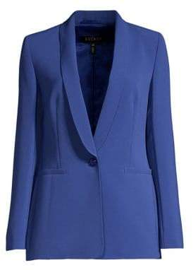 Escada Women's Begasanti Crepe Blazer Jacket - Blue - Size 32 (2)