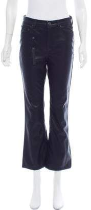 Blank NYC Faux-Leather Mid-Rise Pants w/ Tags