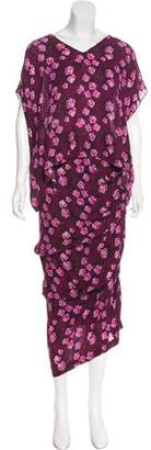 Band Of Outsiders Floral Skirt Set