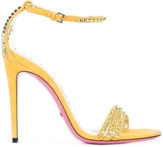 Gucci Ilse crystal embellished sandal