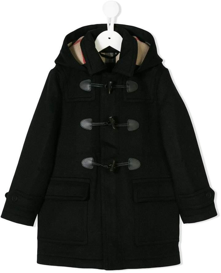 housecheck detail duffle coat