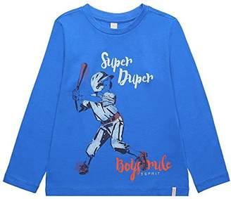 Esprit Boy's RK10034 Longsleeve T - Shirt (Azur Blue 443)