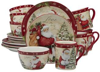 The Holiday Aisle Gianna 16 Piece Dinnerware Set, Service for 4