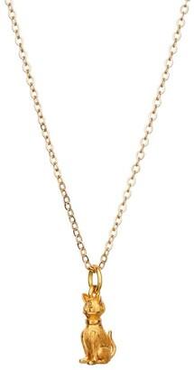 Mirabelle Jewellery Mini Proud Cat Charm Necklace
