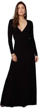Rachel Pally Long Wrap Dress - Black
