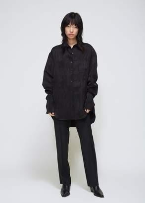 Yang Li Jacquard Long Sleeve Shirt