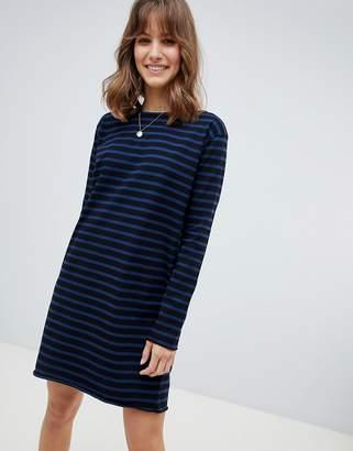 MiH Jeans Mariniere Classic Stripe Sweat Dress