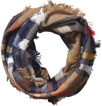 DESIGN IMPORTS Design Imports Plaid Infinity Cold Weather Scarf