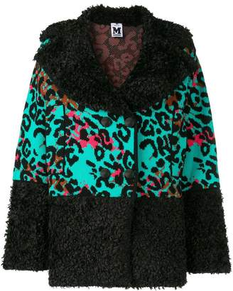 M Missoni knitted leopard jacket